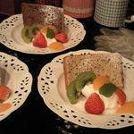 cafe & food Le Bercy - シフォンケーキです♪
