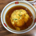 餃子の王将 - 天津飯ジャストサイズ