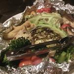 45701512 - 野菜のホイル包み焼き