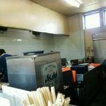 一点張 - 広い厨房