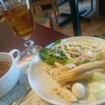 銀座バッカーナ ジョイア - 飲み物はもちろんマテ茶で