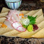 日本料理 ひさの - 鯛の刺身