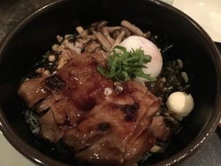 eric-life (=cafe) - 鶏のテリヤキ丼
