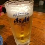 横浜すきずき - 生ビール 480円
