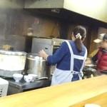 おけいちゃん - 厨房