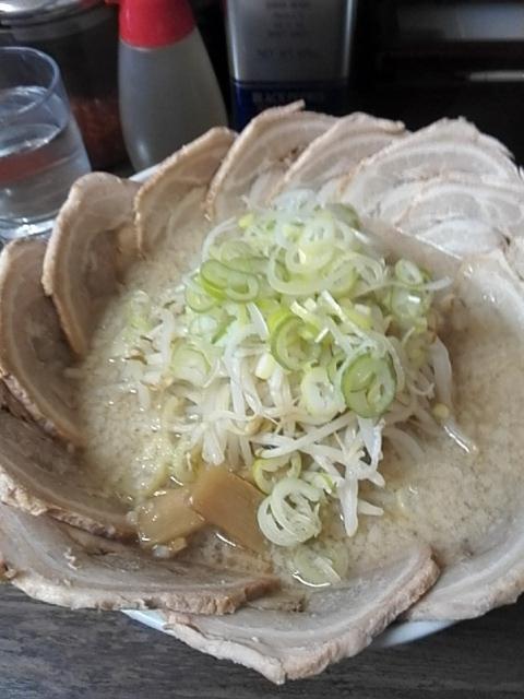 らーめん弁慶 堀切店 - ダブルチャーシュー麺¥1,230