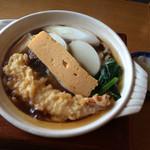 長寿庵 - 鍋焼きうどん/¥1100