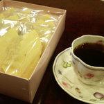 マッターホーン - お気に入りのバームクーヘン。お腹空いてたら、ハコ喰い間違いなし。