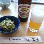 川広 - うざく&ビール