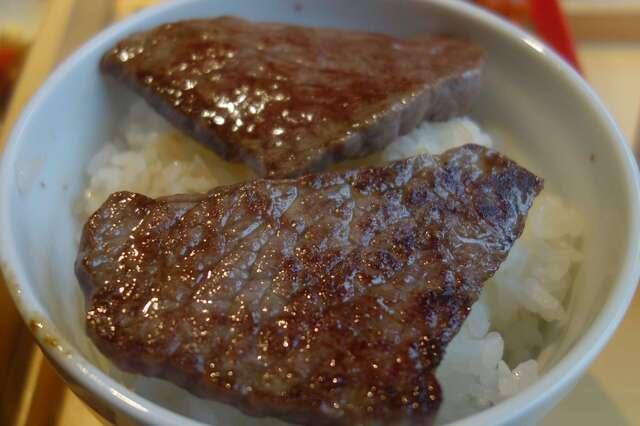 エイジング・ビーフ ワテラス - まずはクリから食べてみると、さっぱりと食べやすい一品。