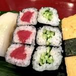 すし処舳 - 料理写真:梅1.5人前 10巻と巻物