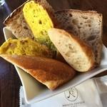 45715105 - 最初のパン盛り合わせ