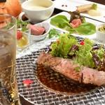 Osteria Gru - 料理写真:厚切りローストビーフLUNCHイメージ