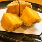 新藤 - 安納芋の天ぷら