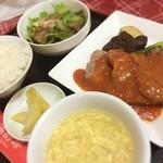 口福厨房 - 中華料理店のポークチャップ♪