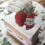 Souvenir - ショートケーキとモンブラン★       久しぶりのショートケーキ!ふわふわで美味しい。