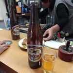 立呑み処 さんかく - 大瓶450円