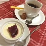 口福厨房 - デザートに紫いものプリンを(≧∇≦)