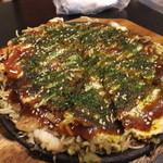鷹山 - 料理写真:広島カープスペシャル焼