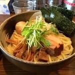 中華そば 椿 - 【2016/12】特製つけ麺(アップ)