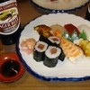 寿し 鮨虎 - 料理写真:にぎり☆絶妙の鮨飯に新鮮ネタが旨い!ビンビールに良く合います♪