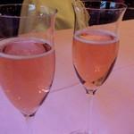 45719868 - まずはスプマンテで乾杯(*^^*)