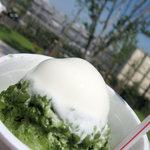 菊月本舗 - 料理写真:抹茶クリーム金時 350円