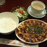 Kaorunshurou - 麻婆豆腐セット