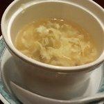 Kaorunshurou - 麻婆豆腐セットのスープ