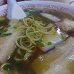 マイカー食堂 - 中華そば¥550(税別)