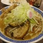 大勝軒まる秀 - 2015年11月 野菜ラーメン 880円