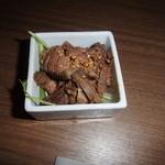 KICHIRI - お通しのローストビーフ