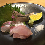 京町料理 みつや - 鰆、甘鯛、明石の鯛、対馬産 ノドグロ