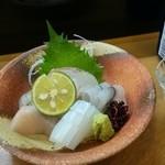 すし松 - 料理写真:刺身の図