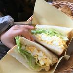 手作りパンカフェ・ピクニック - たっぷり卵サンド