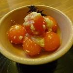 糀 やまき - ミニトマトの塩糀和え