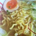函館麺や 一文字 - 塩ラーメンアップ