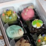 金子老舗 - 聖夜の生菓子