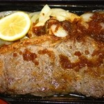 和食処 車や - 料理写真:サーロインステーキ定食 1300円  ステーキ アップ