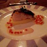 45724924 - 本日のお魚とキノコのグラチネ 海の香りのブールブランソース