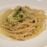 ピソリーノ - 白菜とシーチキンのペペロンチーノ