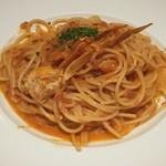 ピソリーノ - 渡蟹のトマトクリーム