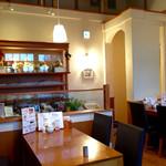 ガーデンカフェサンフルーリ - かわいい雰囲気のお店