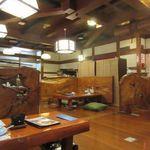 北海道かに将軍 - 2階[欅御殿](2015/12/19撮影)