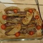 ミシュミシュ - コフタとポテトのオーブン焼