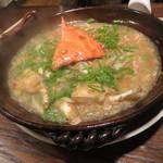 東京チャイニーズ 一凛 - 渡り蟹と桜海老、春雨の煮込み1