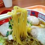 Doutomborikamukura - 麺はぷりっと多加水麺
