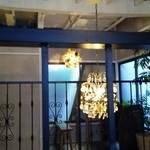 カフェ オトノヴァ - *二階から 吹き抜け