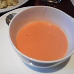 45731681 - 結構好みだったトマトのクリームスープ