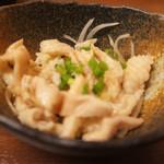 薩摩焼鶏酒場 とり魂 - 鶏皮ポン酢
